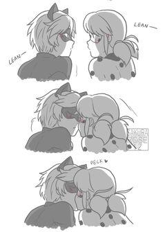 miraculous ladybug | midnight kiss - pg02