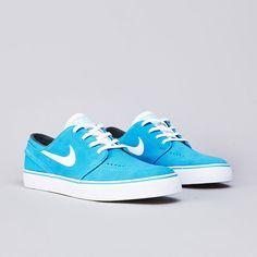 Nike SB Stefan Janoski Vivid Blue / White