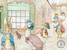 <b>Peter</b> <b>Rabbit</b> and Friends Wallpaper - 1024