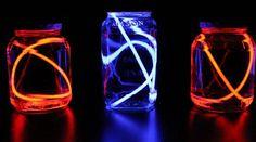 Or use glow sticks to make some DIY lanterns.