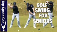 Easiest Swing In Golf For Senior Players Golf Channel, Golf Exercises, Golf Lessons, Golf Tips, Health Fitness, Teaching, Baseball Cards, Youtube, Golf Stuff