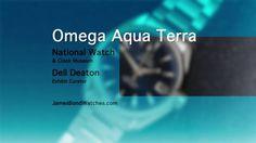 Omega Aqua Terra James Bond Sports Watch / Skyfall 2012