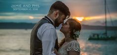 Are we in Seattle or Hawaii? The Ballard Bay Club provided an amazing backdrop for this summer Seattle wedding! What I love about Jamie and Phil's video is…