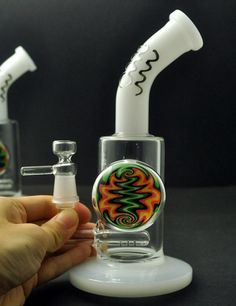 21cm tall hand-made glass bongs bongs for sale glass bongs for sale cheap bongs for sale cheap bongs TTG002 sent color randomly | Bongs & Water Pipes