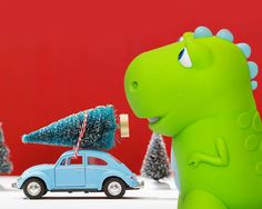 The Dino pushed a toy car, and it went 4 feet. The Dino pushed the car again, and it went 8 feet! How much farther did the car go on the Dino's 2nd try?
