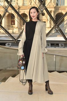 Louis Vuitton: Front Row - Paris Fashion Week Womenswear Fall/Winter 2017/2018 - Pictures