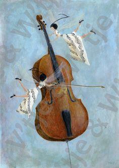 Cello Elfjes door Wouter Tacq