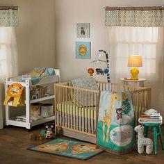 "Lolli Living Zig Zag Zoo 4-Piece Crib Set - Living Textiles - Babies ""R"" Us"