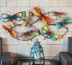 Take a look at this Blue & Yellow Dragonfly Metal Wall Art on zulily today! Dragonfly Wall Art, Dragonfly Jewelry, Metal Wall Decor, Metal Wall Art, Bernardo Y Bianca, Dragon Fly Craft, Insect Art, Metal Walls, Blue Yellow