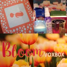 I received the Bloom Voxbox from Influenster for testing purposes, as well as for a review. All opinions are my own and I received no compensation. Cutex Nail Remover Pads Secret Outlast Deodorant …
