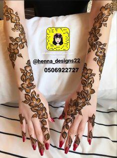 Pretty Henna Designs, Modern Henna Designs, Floral Henna Designs, Henna Tattoo Designs Simple, Finger Henna Designs, Latest Bridal Mehndi Designs, Mehndi Design Pictures, Mehndi Designs For Girls, Mehndi Designs For Fingers