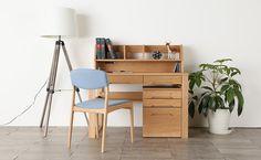天然木の節目の質感を活かしたデスク [marcos] デスク 110サイズ | Interior Shop NOLSIA