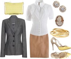 """Work"" by nancyshops on Polyvore"