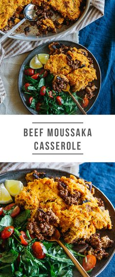 Clean Eating, Healthy Eating, Healthy Food, Paleo Recipes, Paleo Meals, Lamb Dinner, Green Chef, Paleo Sweet Potato, Moussaka