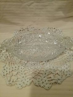Check out this item in my Etsy shop https://www.etsy.com/listing/239709111/vintage-clear-cut-glass-relish-pickle
