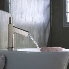 Shop Kraus  KEF-15701 Ino Basin Single Handle Bathroom Faucet with Custom Laminar Flow at ATG Stores. Browse our bathroom faucets, all with free shipping and best price guaranteed.