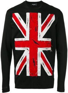 DSQUARED2 union jack sweatshirt
