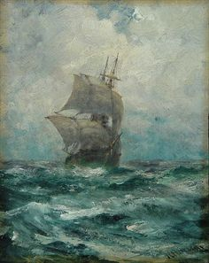 Perfect prayer for intrepid souls. Compare: Who dares wins. -- SAS motto Everyone who seeks, finds. Ship Paintings, Nautical Art, Water Life, Tall Ships, Beautiful Artwork, Sailboat, Painting Inspiration, Sailing Ships, Portsmouth England
