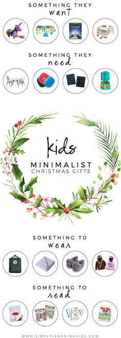 Minimalist Christmas Gifts For Kids 2018 - Simply Learning - It's finally November and I am so excited to release our 2018 Holiday Gift Guide! Christmas Presents For Kids, Presents For Girls, Christmas Gift Guide, Gifts For Girls, Holiday Gifts, Christmas Crafts, Toddler Christmas Gifts, Christmas Ideas, Simply Learning