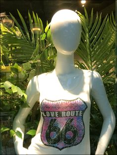 Love Route 66 Tank Top Ferns Main