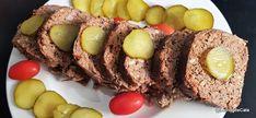 Blogul lui Cătă: Chec cu carne si mortadella / Polpettone Cata, Lchf, Low Carb, Eggs, Breakfast, Food, Ground Beef, Tomato Paste, Food Recipes