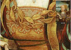 Detail: Dress lacing http://www.lucascranach.org St Ursula (Leys Schütz?) 1524 (?) Workshop Lucas Cranach the Elder Stiftsmuseum Aschaffenburg