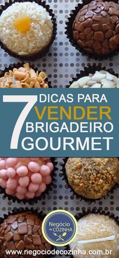 Meet 7 surefire tips on how to sell gourmet brigadeiro! Kitchen Recipes, Gourmet Recipes, Great Recipes, Favorite Recipes, Pretty Cakes, Sugar And Spice, Food Porn, Food And Drink, Yummy Food