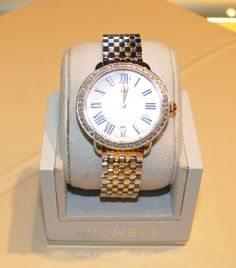 She would love this Michele diamond watch  from Pampillonia Jewelers! $2,145