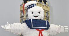 Ghostbusters LEGO Build Recreates Mr. Stay Puft's Manhattan Assault