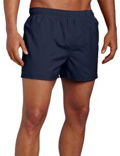 0625653f61 Speedo Surf Runner Volley Swim Trunks, Navy/Blue, Medium Speedo http:/