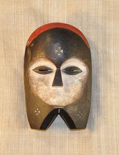 African Masks - Fang Mask 61 - Front - Click to return to the top of the page.