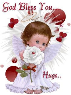 May God bless you in all you do and my hugs to you sealed with a kiss too! Hugs And Kisses Quotes, Hug Quotes, Angel Quotes, Snoopy Quotes, Good Night Blessings, Morning Blessings, Morning Prayers, Hug Pictures, Angel Pictures