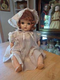 "Vintage Horsman Doll~Composition Head, Vinyl Limbs~TLC~24""~Head Good~"