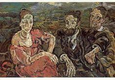 The Emigrants, 1916-17, Oskar Kokoschka