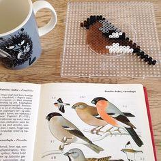 Bird hama perler beads by comill