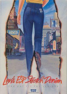 Levi's, 1960s #jeansdujour