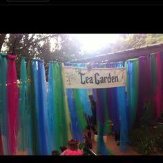 At Elves faire at Pasadena Waldorf School, November.