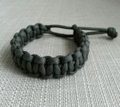 """Mad Max"" paracord bracelet."