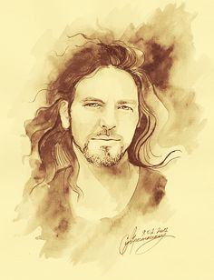 """Eddie Vedder """"Jesus Messiah (pbuh) will listen to music and he will be a very extroverted person who likes having fun. You will see. He is a highly modest, humorist, very well behaved, very handsome, magnificent young man with thin waist and wide shoulders."""" Adnan Oktar (A9 TV; November 1st, 2013)"""