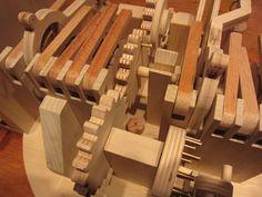 wooden automata hand crank   Making Automata