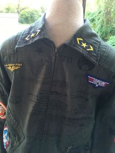 TOPGUN Costume Adult XL Flight Jumpsuit US Army Apache Navy Fighter School Prop   Clothing, Shoes & Accessories, Costumes, Reenactment, Theater, Costumes   eBay!