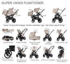 Barnvagnen Super Viking - Emmaljunga