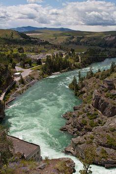 Kerr Dam, Flathead Lake, Montana
