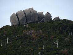トーフ岩/屋久島