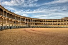 Rhonda, Spain ~ famous bull ring