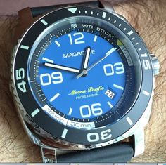 Magrette moana #pacific pro 500m dive watch pam #luminor case automatic #sapphire,  View more on the LINK: http://www.zeppy.io/product/gb/2/302012531464/