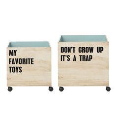 Orden niños - Set cajas Box
