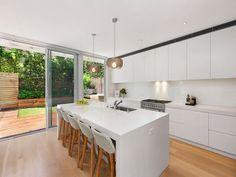 4 Patterson Street, North Bondi, NSW 2026 #caesarstone #kitchen #design #inspiration #benchtop #renovation #ideas