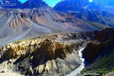 """The name """"Spiti"""" means """"The Middle Land"""", i.e. the land between Tibet and India.  #travel #India #explore #Himalayas #Indiantrails #HimalayanAdventures #MountainAdventures #experienceIndia #Spitivalley #travellers #travelinginIndia #traveling #tripstoIndia #destinationIndia #HimalayanVillages #Monasteries #Kaza #Losar #Kibber #Tabo"""