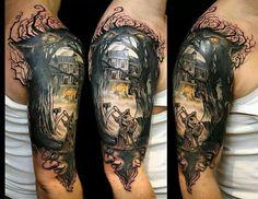 discworld tattoo - Google Search